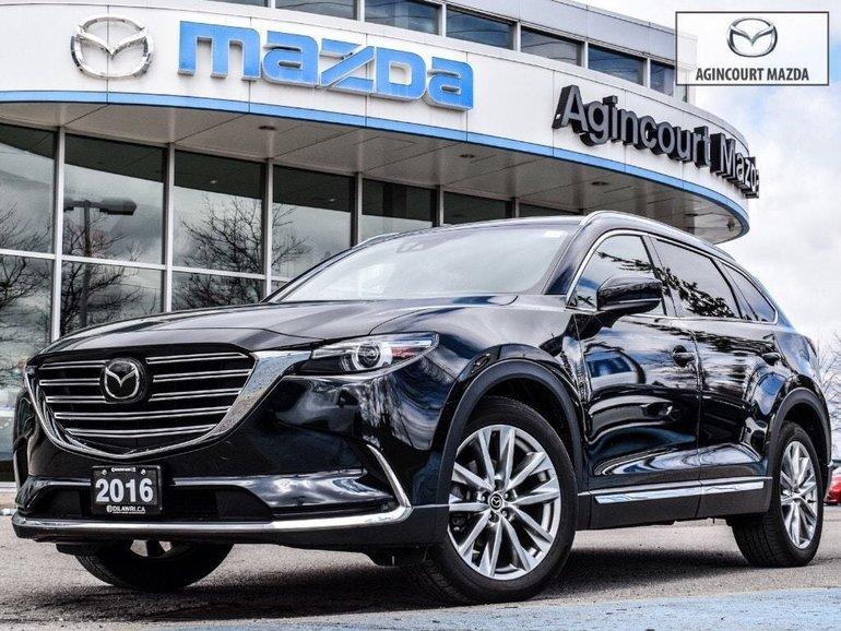 Mazda CX-9 GT Tech   Rmt Strt   Lthr   Pwr Htd Sts   Sunroof 2016