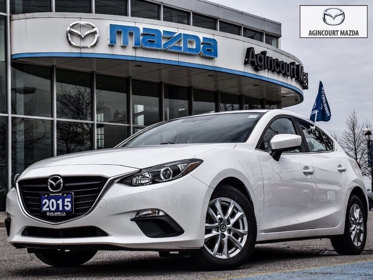 2015  Mazda3 Sport GS   Alloys   Rear Cam   Bluetooth   Touchscreen