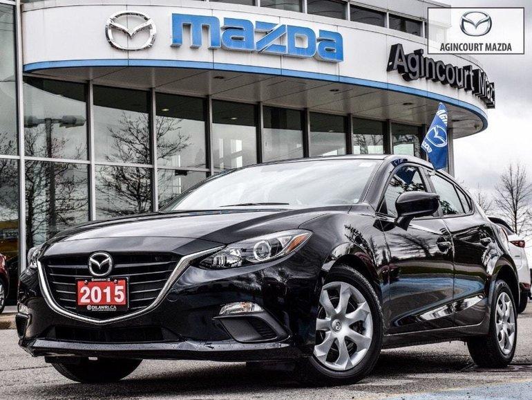 2015  Mazda3 Sport GX   Push Start   Bluetooth   Keyless   A/C