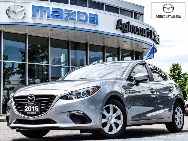 Mazda3 Sport GX   Bk up Cam   Push start   Bluetooth   USB 2016