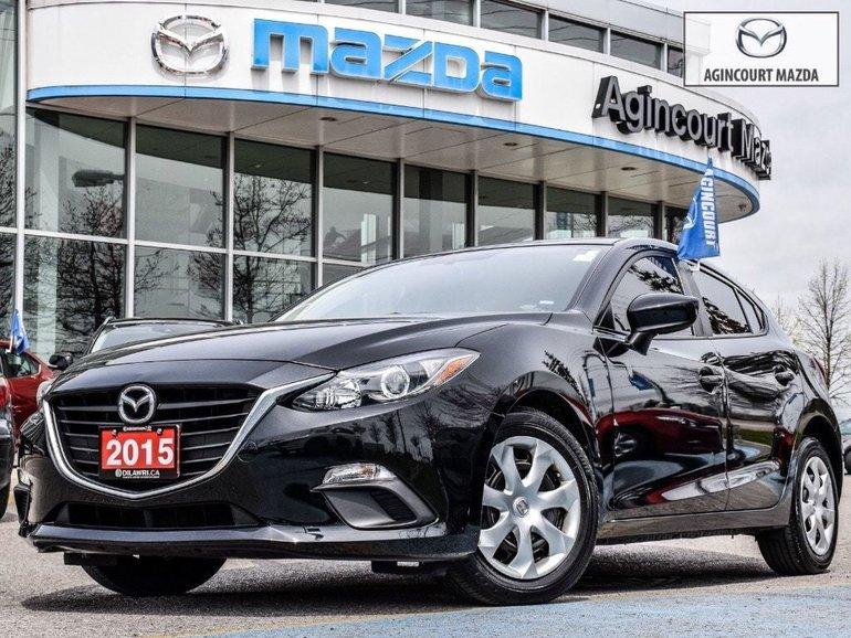 2016  Mazda3 Sport GX   Touchscreen   Rear Cam   Bluetooth   A/C