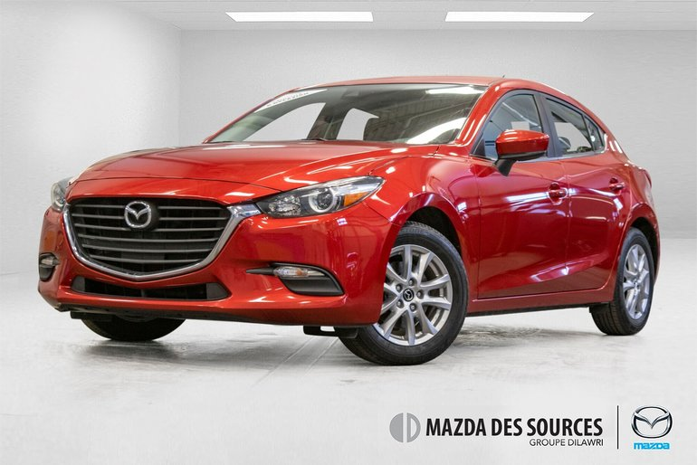 2017  Mazda3 Sport GS Sieges Chauffants Rear Camera