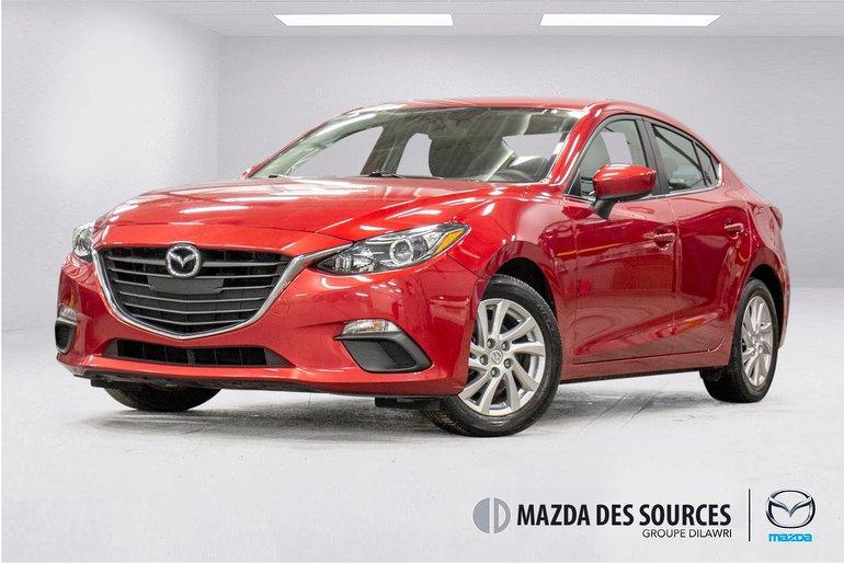 2015 Mazda Mazda3 GS (AUTO) Sieges Chauffants Bluetooth RearCamera