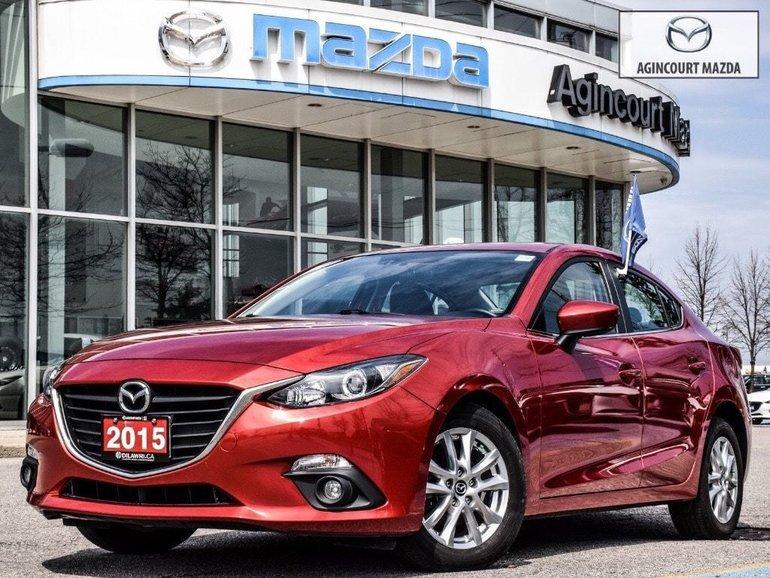 Mazda Mazda3 GS   No Accidents   Sunroof   Heated Seats 2015