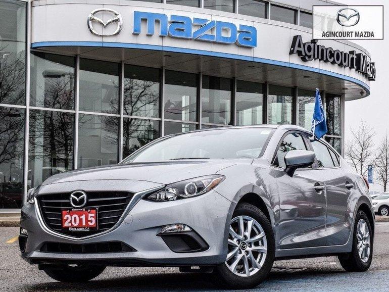 2015  Mazda3 GS   Htd Sts   Rear Cam   Bluetooth   Push Start