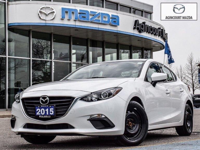 2015  Mazda3 GX   Bluetooth   Keyless   Push Start   A/C