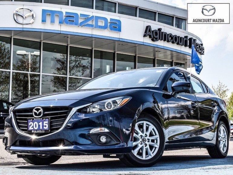 2015  Mazda3 GS   Heated Seats   Sunroof   Rear Camera