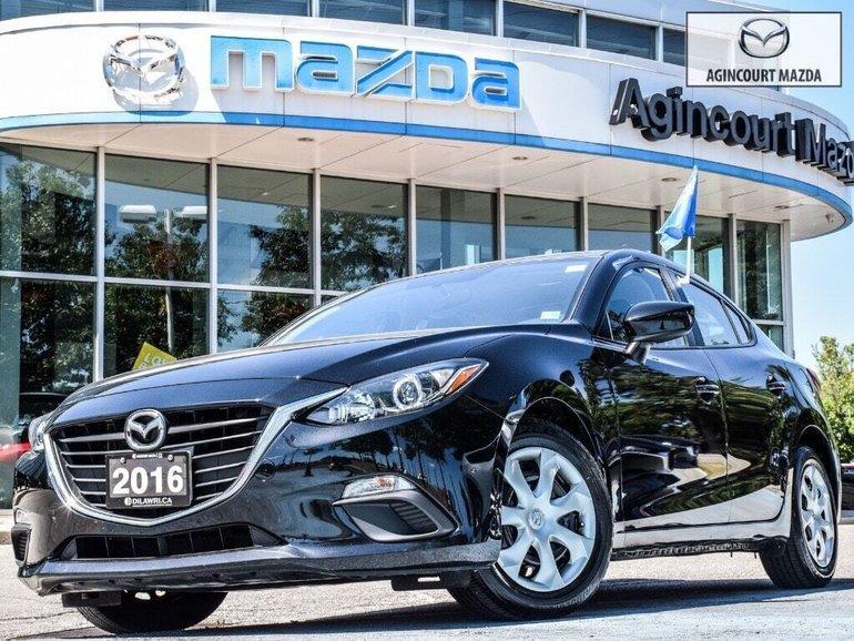 Mazda3 GX   No Accidents   Rear Camera   Bluetooth   A/C 2016