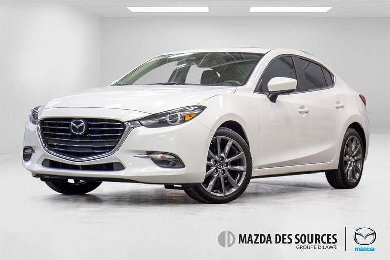 Mazda3 GT GPS CUIR TOIT OUVRANT SIEGES CHAUFFANTS 2018