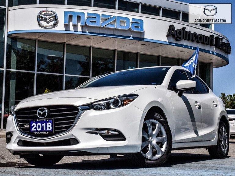 Mazda3 GX   No Accidents   Rear Camera   Bluetooth   A/C 2018