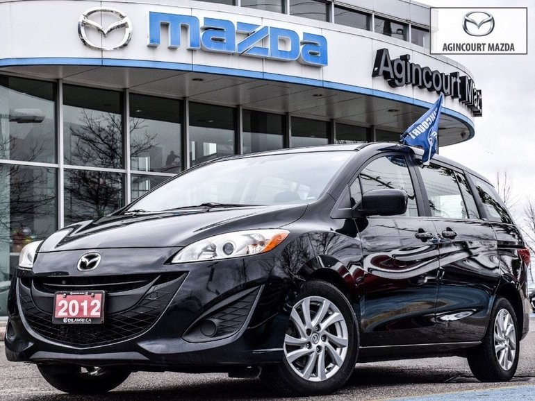 2012  Mazda5 GS   Conv Pkg   Bluetooth   Alloys   Sliding Doors