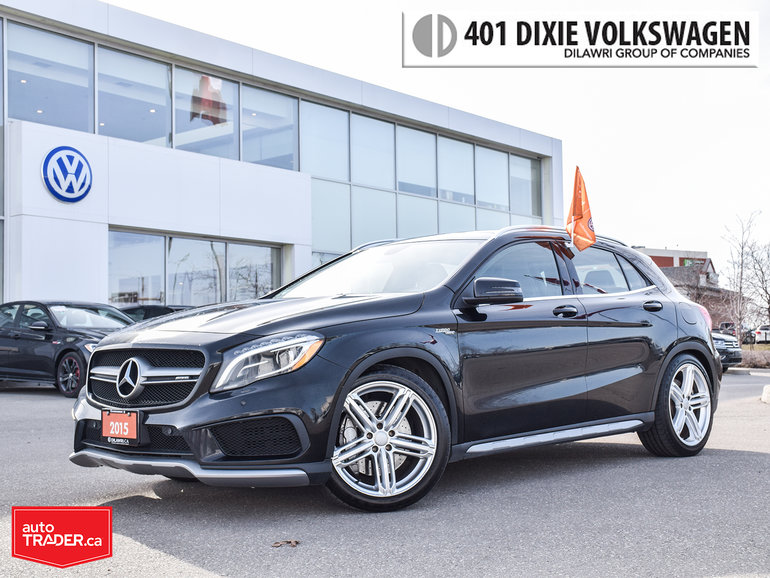 2015 Mercedes-Benz GLA45 AMG 4matic SUV Traded/AMG Package/Navi/