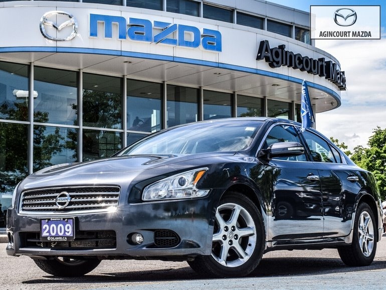 2009 Nissan Maxima SV   As Is   Alloys   Lthr   Hts Sts   Bluetooth