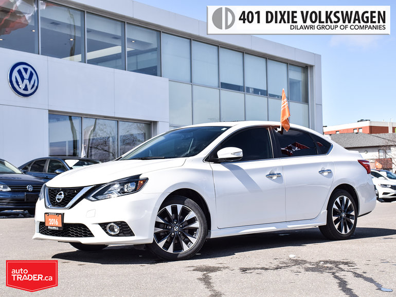 2016 Nissan Sentra 1.8 SR CVT SR/Leather/Navi/Roof/17Wheels Loaded