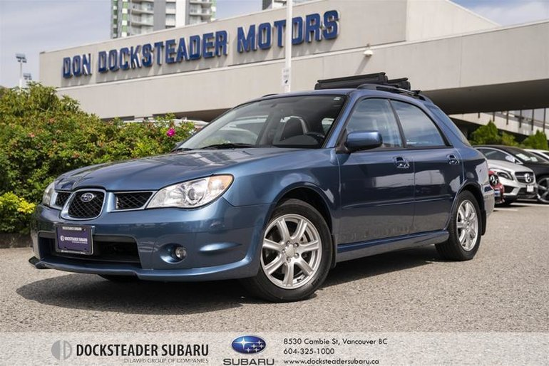 2007 Subaru Impreza Sport Wagon 2.5 I 5sp