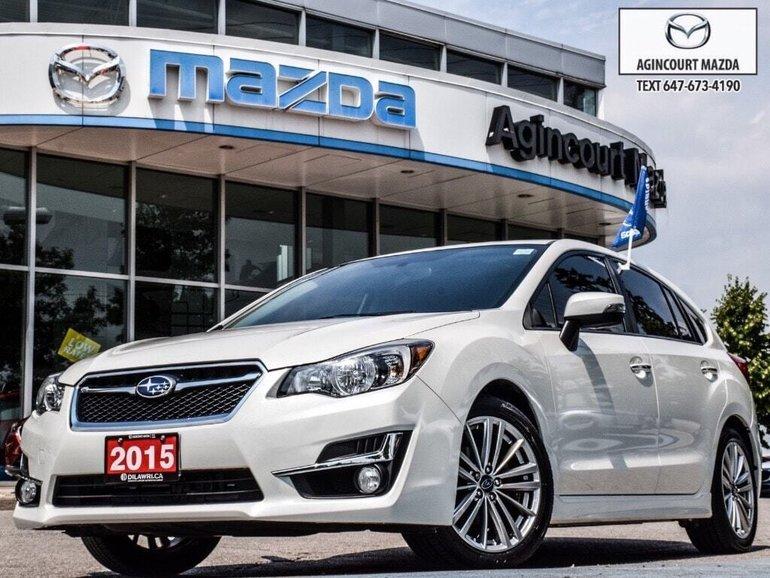 Subaru Impreza 2.0i Limited   Leather   Htd Sts   Navi   Sunroof 2015