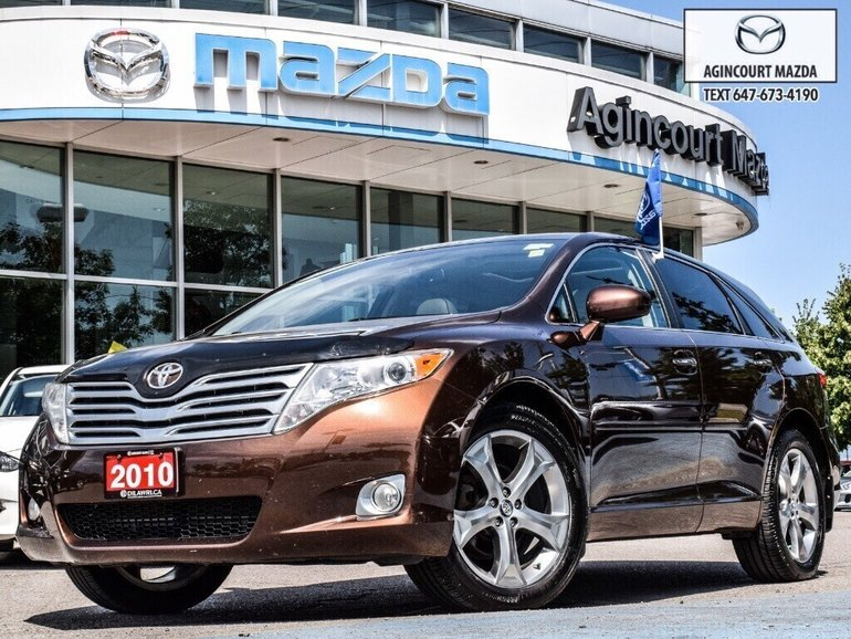 2010 Toyota Venza V6 AWD   Rear Camera   Heated Seats   Sunroof