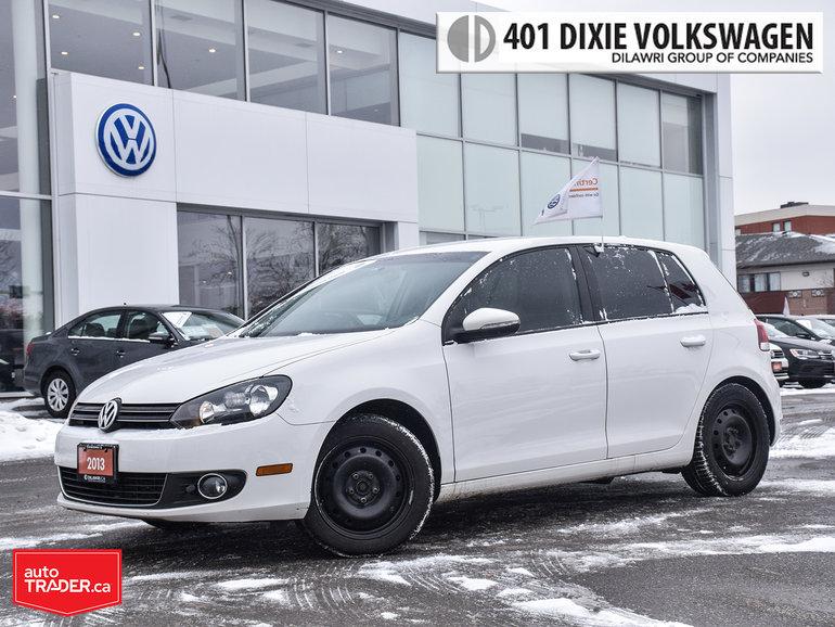 2013 Volkswagen Golf 5-Dr TDI Comfortline at Tip Traded. 100% NO Accide