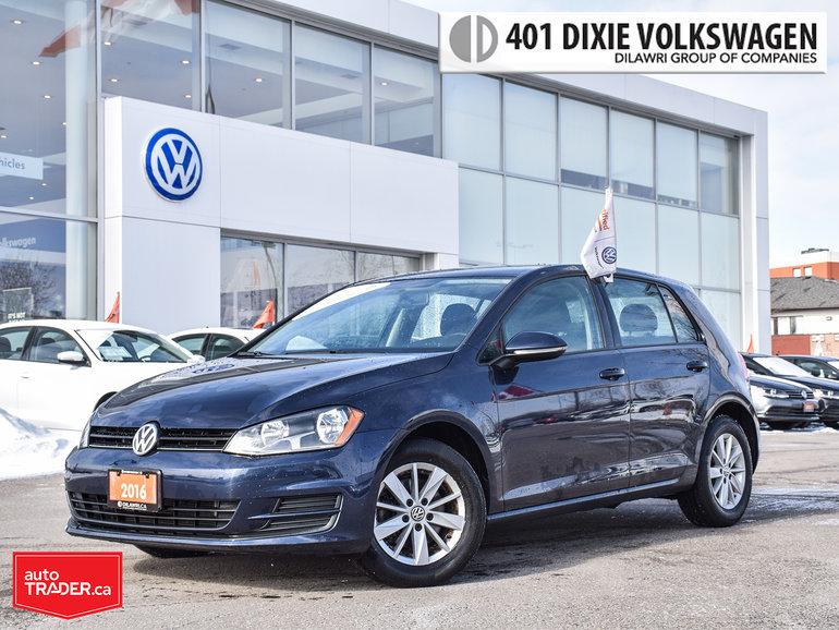 2015 Volkswagen Golf 5-Dr 1.8T Trendline 5sp OFF Lease/NO Accidents/