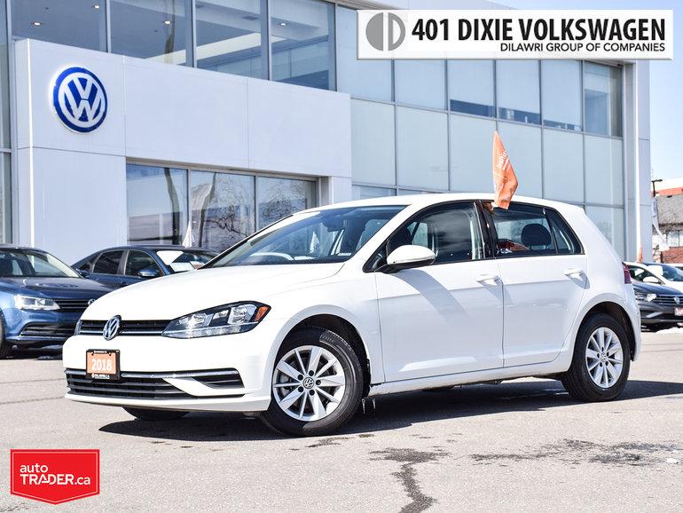 2018 Volkswagen Golf 5-Dr 1.8T Trendline 6sp at w/Tip NO Accidents/Clea