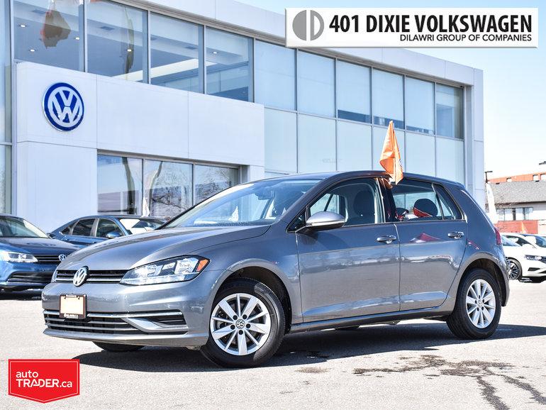 2018 Volkswagen Golf 5-Dr 1.8T Trendline 6sp at w/Tip NO Accidents/Back