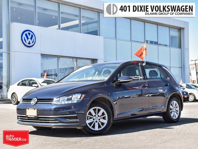 2018 Volkswagen Golf 5-Dr 1.8T Trendline 6sp at w/Tip Nice AND Looking