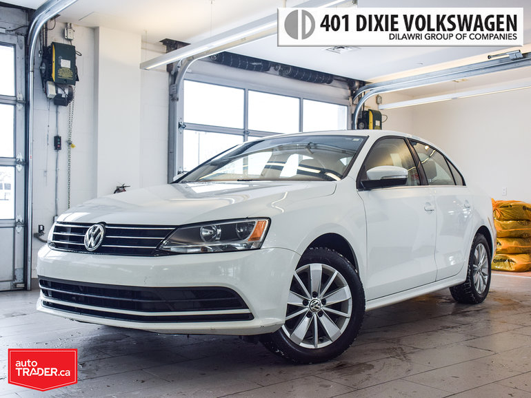 2015 Volkswagen Jetta Trendline Plus 2.0 6sp w/Tip Power Sunroof. Alloys