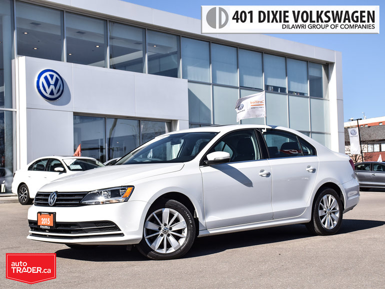 2015 Volkswagen Jetta Trendline Plus 2.0 6sp w/Tip Power Sunroof/Back UP
