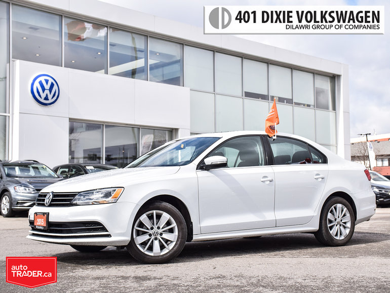 2015 Volkswagen Jetta Trendline Plus 2.0 6sp w/Tip Backup Camera/Power S