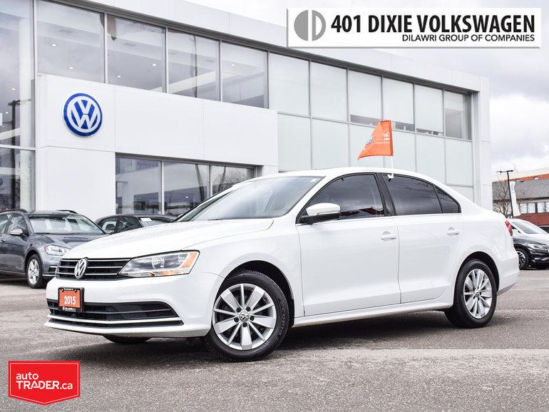 2015 Volkswagen Jetta Trendline Plus 2.0 6sp w/Tip Power Roof/Back UP Ca