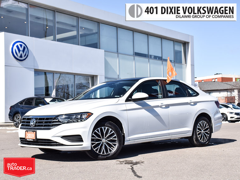 2019 Volkswagen Jetta Highline 1.4T 8sp w/Tip Very LOW KMS/ Clean/ Like