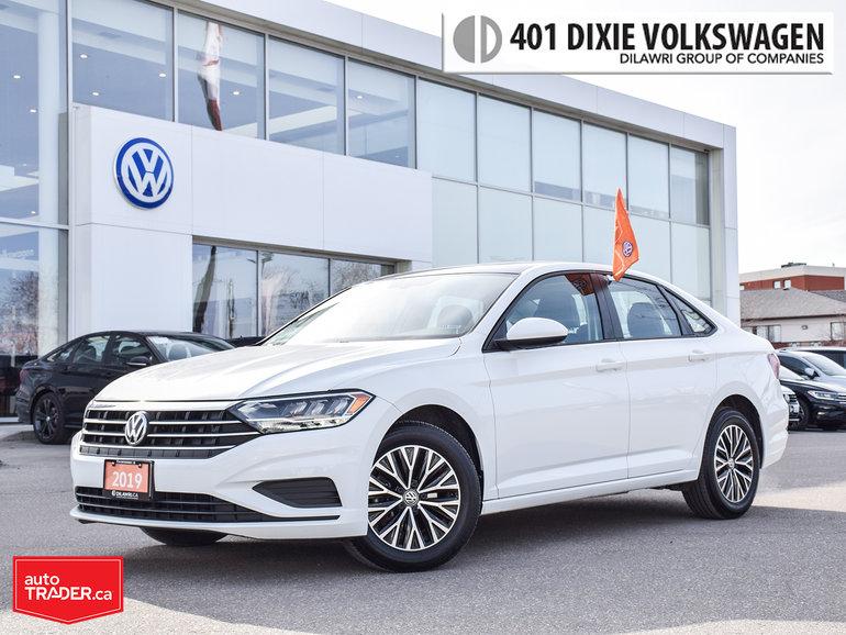 2019 Volkswagen Jetta Highline 1.4T 8sp w/Tip Loke NEW /LOW KMS/Back UP