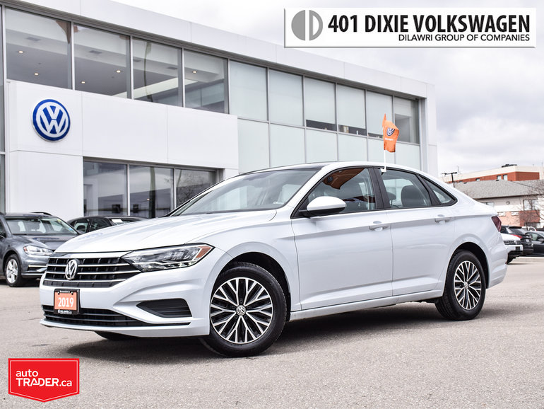2019 Volkswagen Jetta Highline 1.4T 8sp w/Tip NO Accidents/Power Roof/Ba