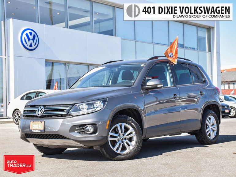 2015 Volkswagen Tiguan Trendline 6sp at Tip OFF Lease/LOW KMS/NO Accident
