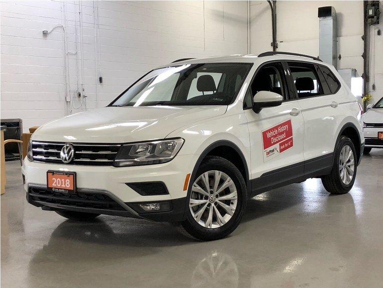 2018 Volkswagen Tiguan Trendline 2.0 8sp at w/Tip 4M NO Accidents/ ALL Wh