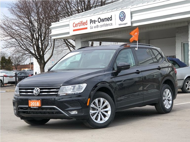 2018 Volkswagen Tiguan Trendline 2.0 8sp at w/Tip 4M 4motion/LOW KMS/