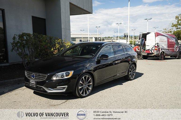 2015 Volvo V60 T6 AWD
