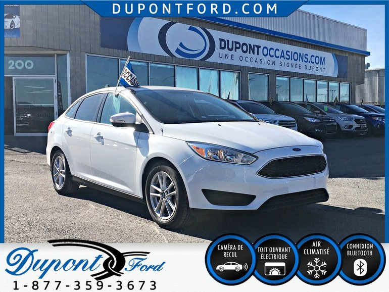 Ford Focus 4DR SDN SE - TAUX A PARTIR 2.9% AVEC UN * V O C * 2015