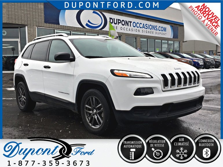 Used 2015 Jeep Cherokee Sport Sport Uconnect Air Equipe Jamais