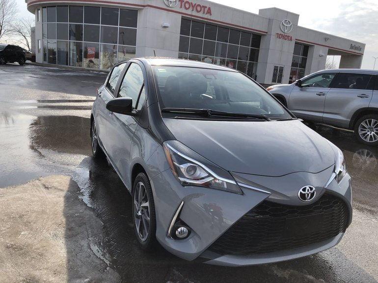 Certified Used Toyota >> New 2019 Toyota Yaris Hatchback SE - $21925.0 | Belleville ...