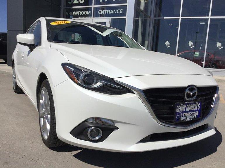 2016  Mazda3 GT 6sp