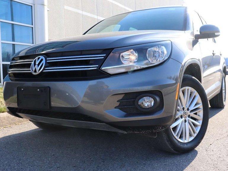 2016 Volkswagen Tiguan Payments from $149.97(+tax) Bi-weekly!   Comfortli