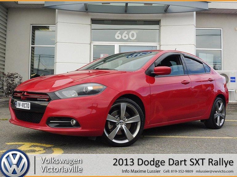 Dodge Dart Sxt >> 2013 Dodge Dart Sxt Rallye Gps Toit Mag