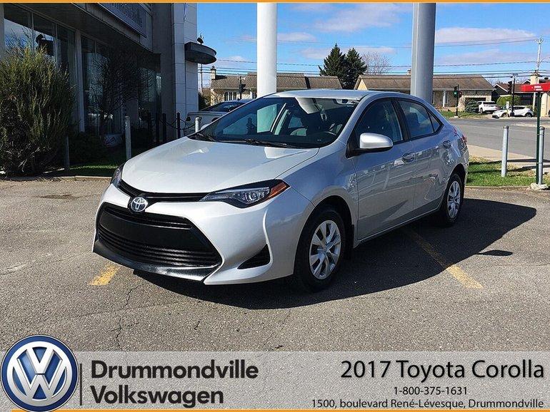 2017 Toyota Corolla LE / AIR CLIMATISÉ/ BANC CHAUFFANT