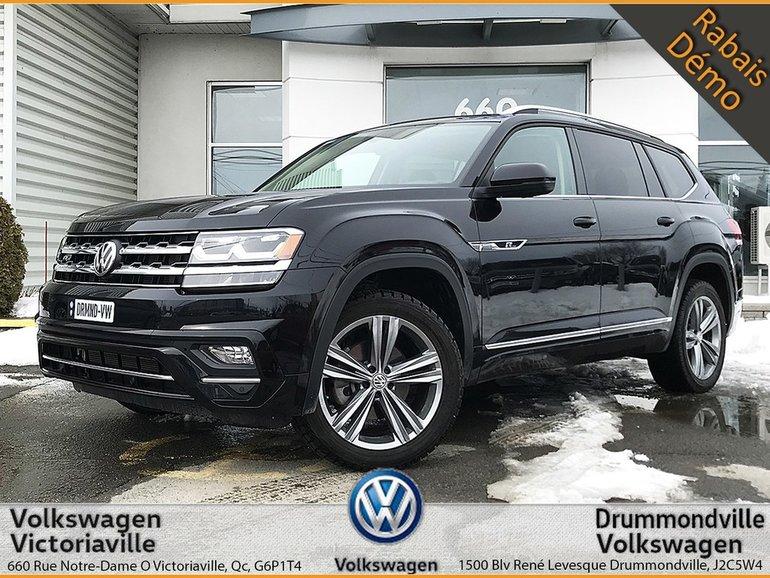 Volkswagen Atlas Highline R-LINE 3500$ RABAIS COMPTANT | FULL 2018