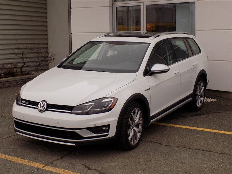 2018 Volkswagen GOLF ALLTRACK TSI, AWD, 4x4