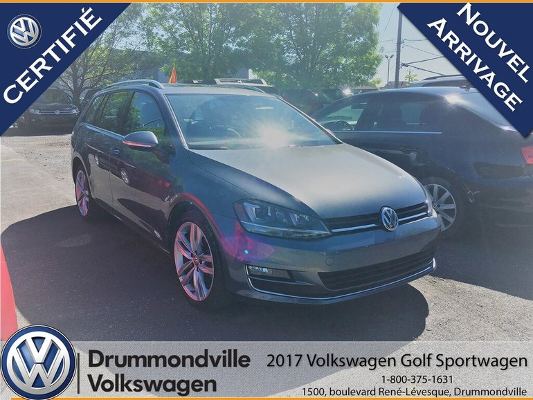 2017 Volkswagen GOLF SPORTWAGEN 1.8 TSI Highline/AWD 4Motion/Toit Pano/Full Equip
