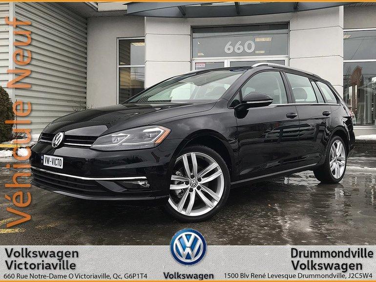 Volkswagen GOLF SPORTWAGEN Highline 0% 72 Mois ou 2000$ Rabais au comptant 2018