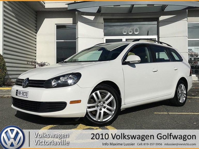 Volkswagen Trois Rivieres >> Used 2010 Volkswagen Golf Wagon Comfortline Toit Panoramique White
