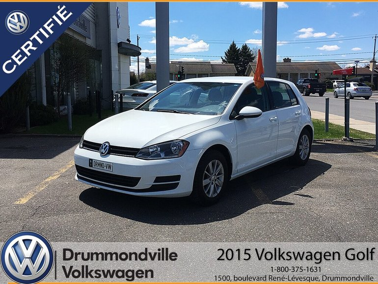 2015 Volkswagen Golf 1.8 TSI Trendline   ÉQUIPEMENT COMPLET